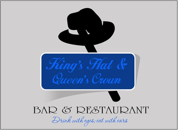 Kings Hat & Qeens Crown Bar